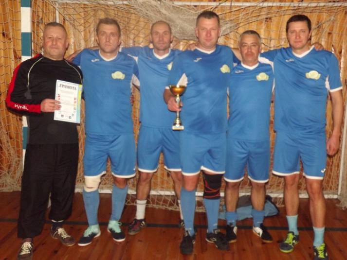 «Волошки» стали переможцями турніру серед футболістів-ветеранів