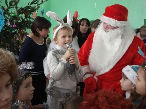 Скулин: у місцевій школі відбулися новорічні ранки для школярів