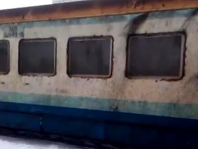 Показали жахливий поїзд «Ковель – Сарни»