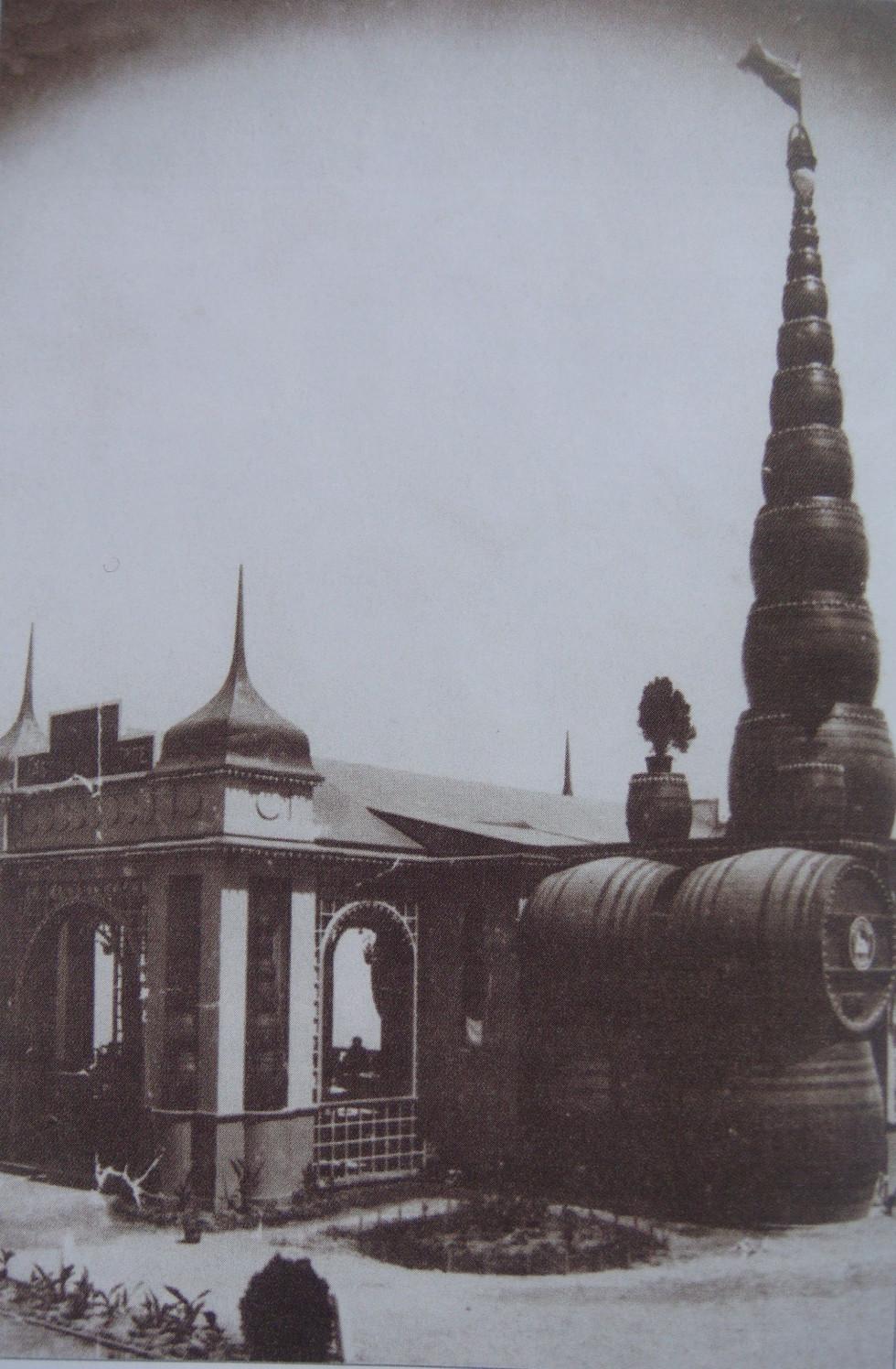 Павільйон пива «Габербуш і Шіле» на Одеській всеросійській виставці 1910 року