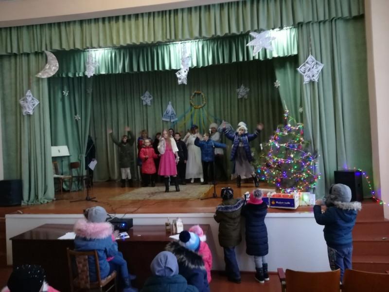 У будинку культури села Майдан відбулися різдвяні віншування