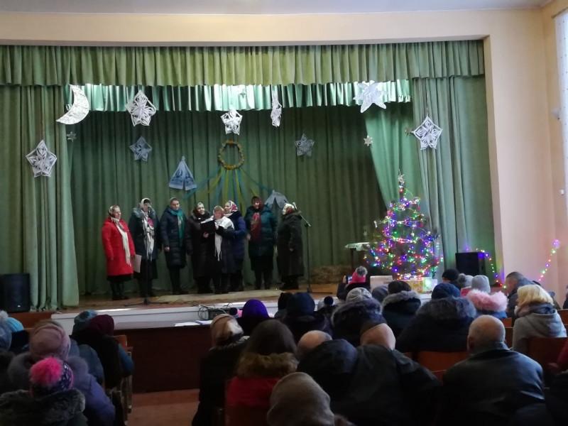 Бруховичі: як у селі вітали із Різдвом
