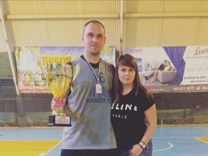 Андрій Романиця з дружиною Оксаною
