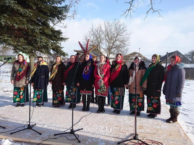 Радошин: як у Голобській громаді провели різдвяний ярмарок