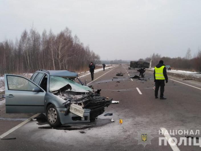 У поліції розповіли деталі ДТП біля Люблинця