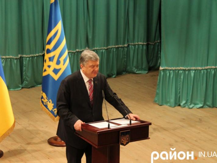 Петро Порошенко у Рожищі