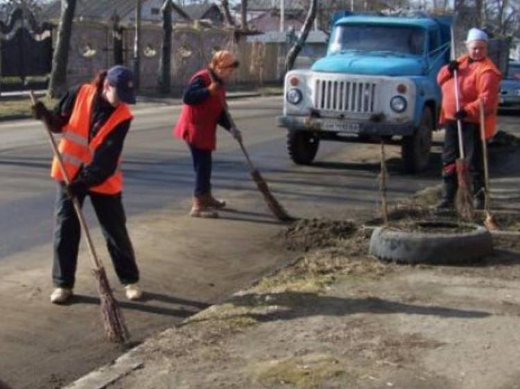 У Ковелі на підмітання та прибирання вулиць цього року витратять 11,3 мільйонів гривень / Фото ілюстративне