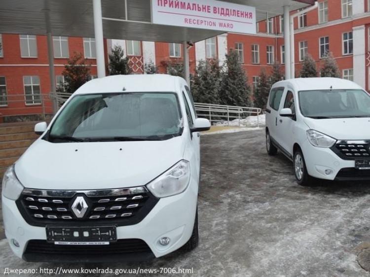Ковельському МТМО доставили машини від фірми, власник якої – з офшору