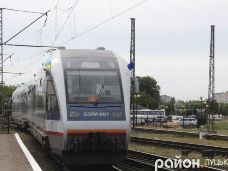 Тимчасово не курсуватиме поїзд «Здолбунів – Хелм» через Ковель