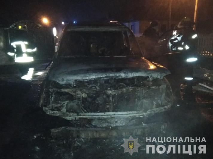 Ковельські поліцейські розслідують підпал автомобіля