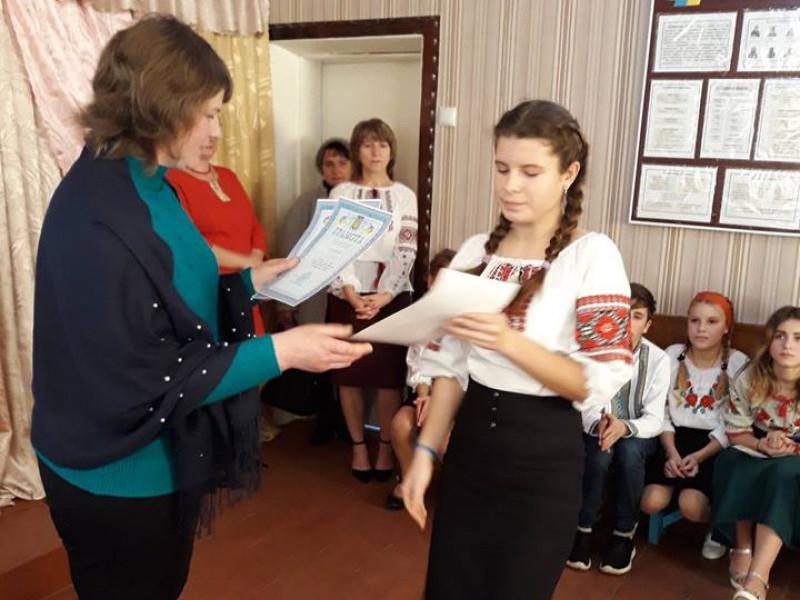 Підліси: у місцевій школі відбувся конкурс читців віршів Лесі Українки