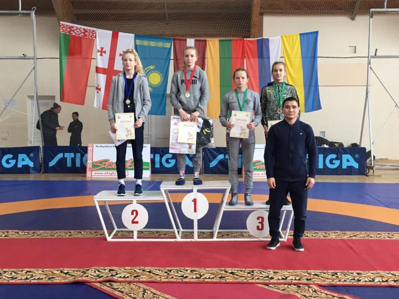 Юна ковельська борчиня Ольга Падошик здобула «бронзу» у Білорусі