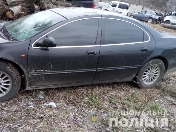 У Ковелі поліцейські виявили автомобіль із сумнівними документами