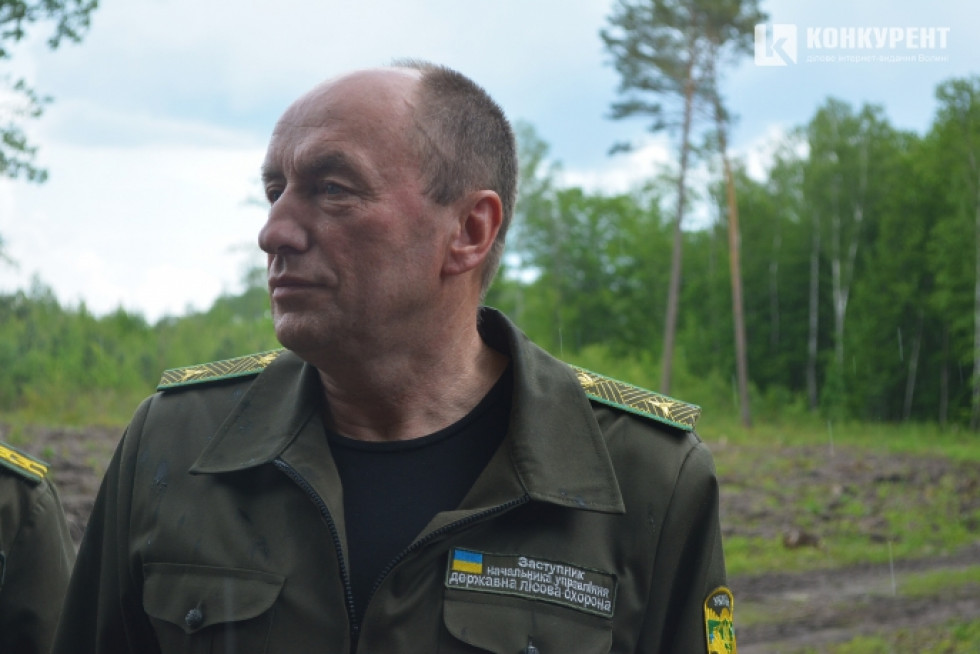 Заступник начальника Волинського обласного управління лісового та мисливського господарства Олександр Рибчинський