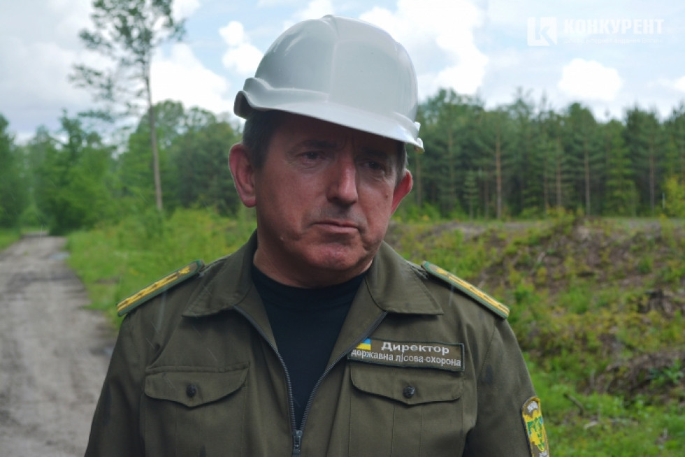 Директор ДП «Ковельське лісове господарство» Володимир Данилюк