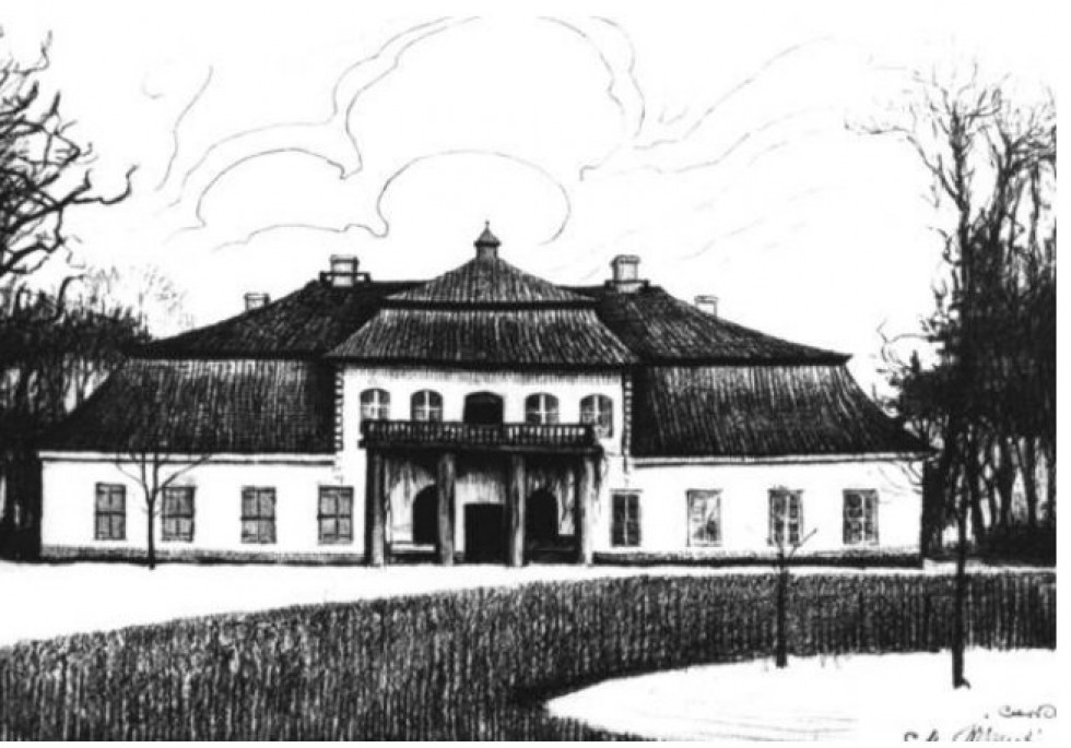 Мисливська резиденція в Велицьку. Автор М.Вішніцкі. 1911 р.