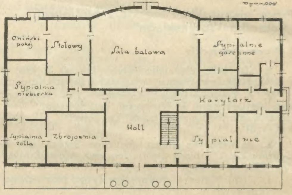 План будівлі в Велицьку