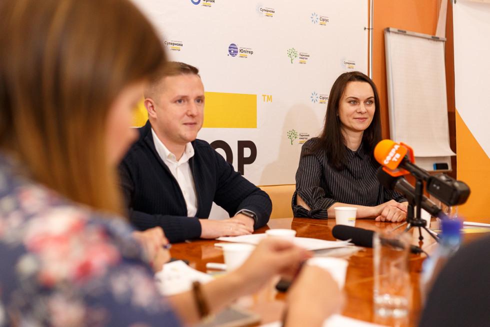 Андрій Разумовський і Катерина Фурманюк
