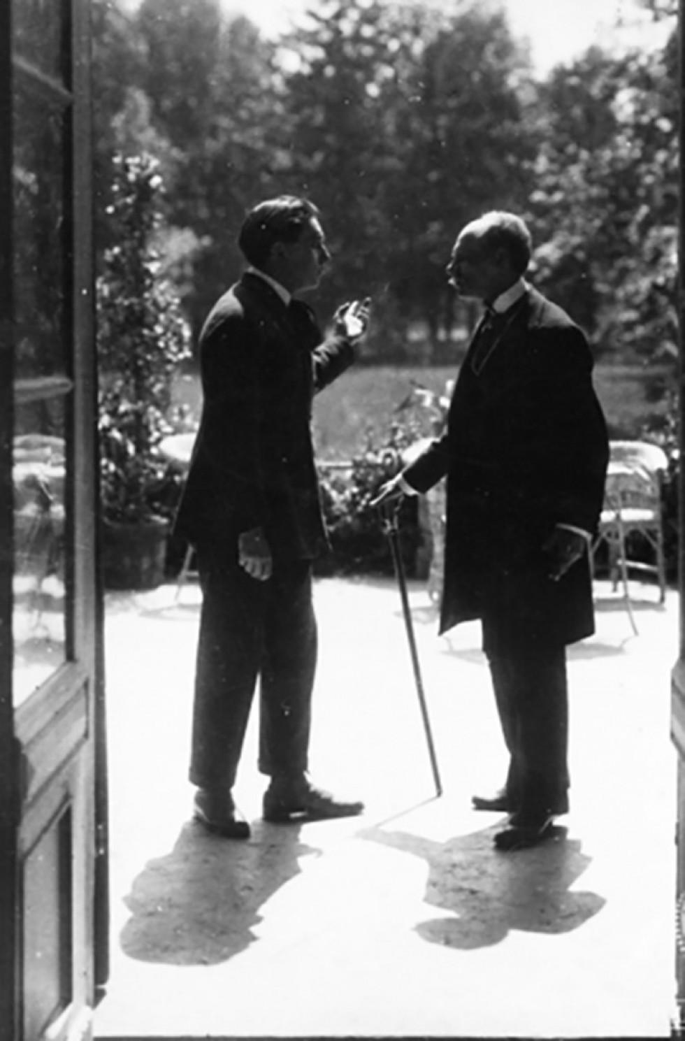 Міхал Вашинський в фільмі «Заздрість» (1922). Fototeka FN