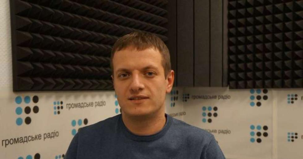 """Андрій Савін. Фото: """"Громадське радіо"""""""