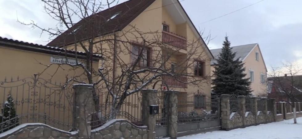 Будинок Пінчуків в Ковелі. Скрін: «Слідство.Інфо»