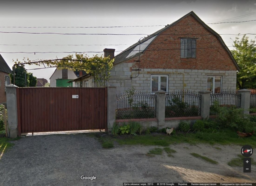 Будинок у Ковелі на вулиці Академіка Кравчука, де Об'єдков зареєстрував свою громадську організацію