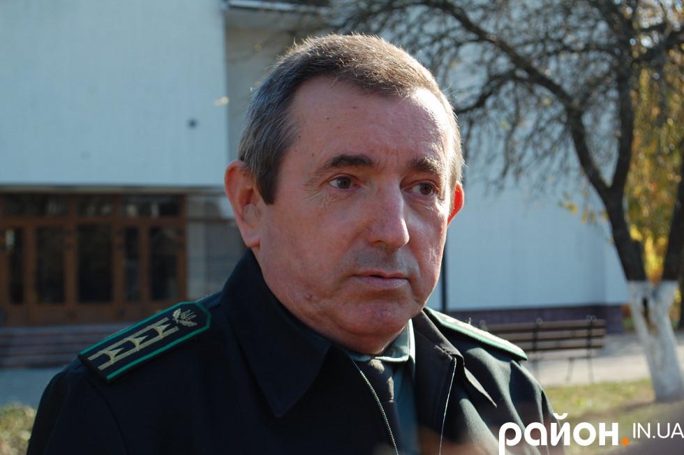 Керівник ДП «Ковельське лісове господарство» Володимир Данилюк