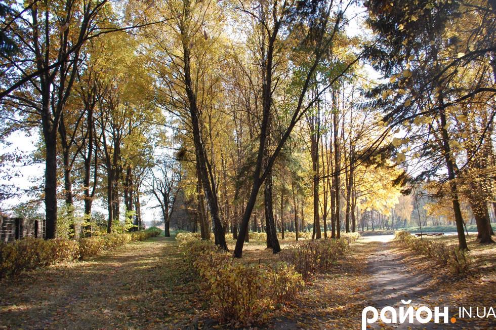 Стежини в лісопарку Лесі Українки