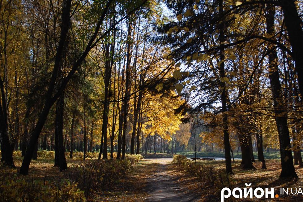 Гості прогулялися лісопарком