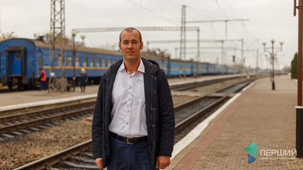 Начальник станції Ковель Руслан Александрук