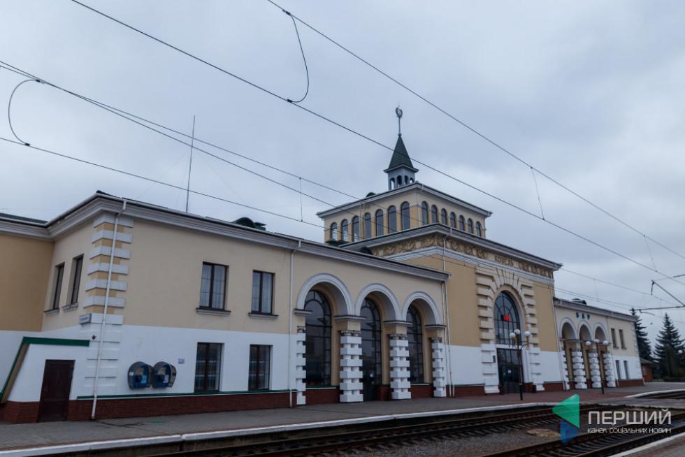 Ковельський залізничний вокзал