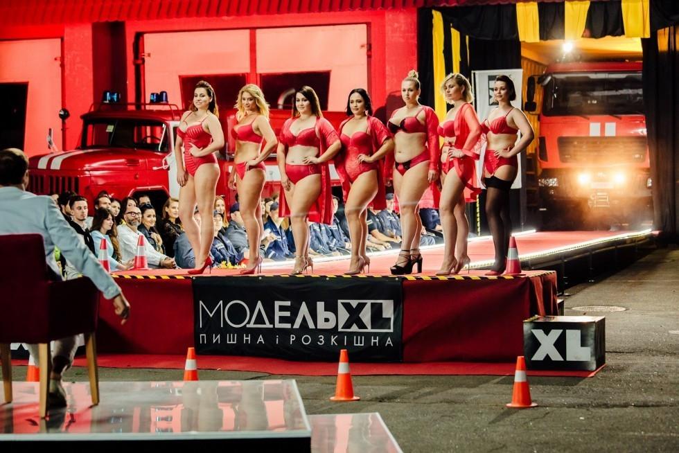 Учасниці шоу «Модель XL»
