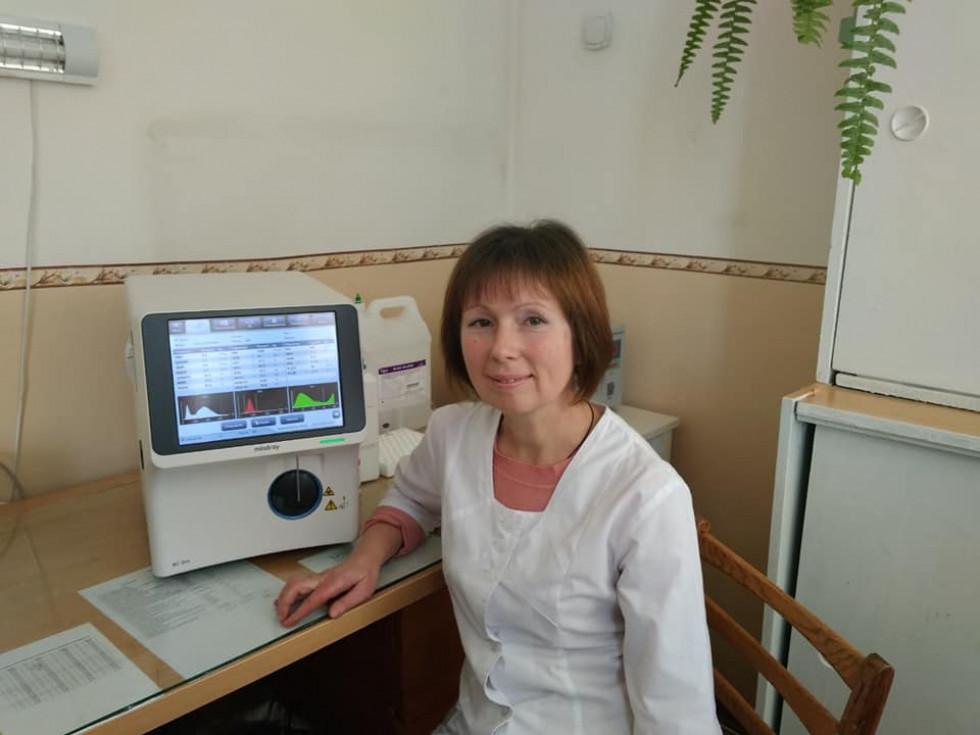 Володимир-Волинське ТМО отримало нове обладнання для лабораторії