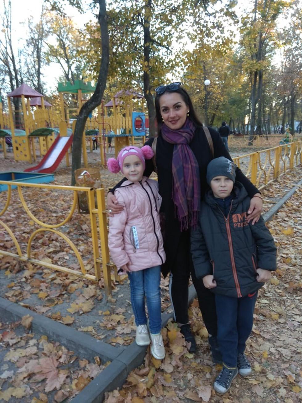 З Йорданою та Дмитром