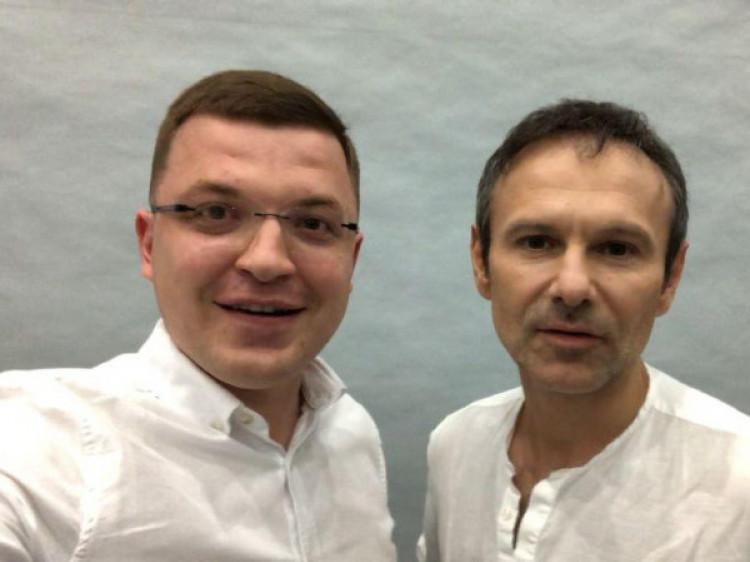 Тарас Шкітер зі Святославом Вакарчуком