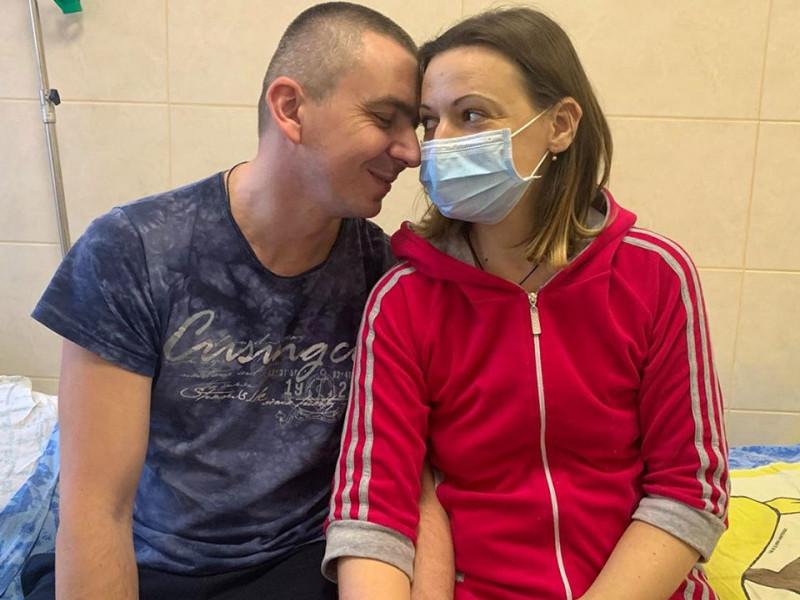 Тетяна Рудаєва з чоловіком