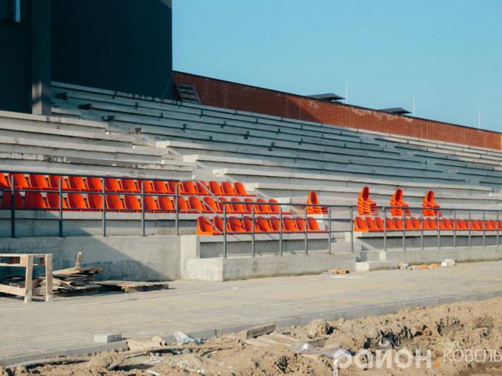 Майбутні трибуни ковельського стадіону